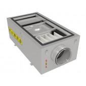 Компактная моноблочная приточная установка с водяным нагревателем Shuft CAU 2000/1-W VIM