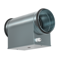 Электрический нагреватель для круглых каналов Shuft EHC 315-9.0/3