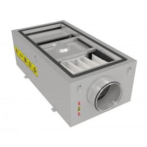 Компактная моноблочная приточная установка с водяным нагревателем Shuft CAU 3000/3-W VIM
