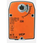 Электропривод UCP TFU-230-03 с возвратной пружиной