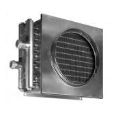 Водяной нагреватель для квадратных и круглых каналов Zilon ZWA 150x150-2
